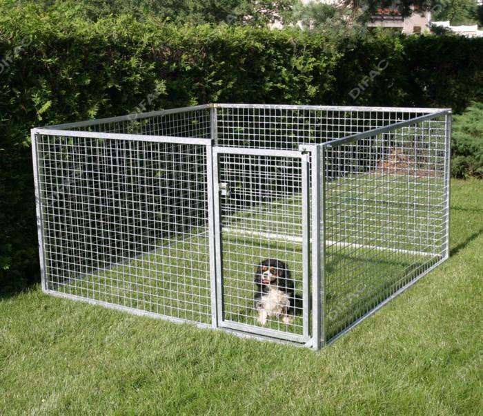 chenil chien grillage - Garde de chiens