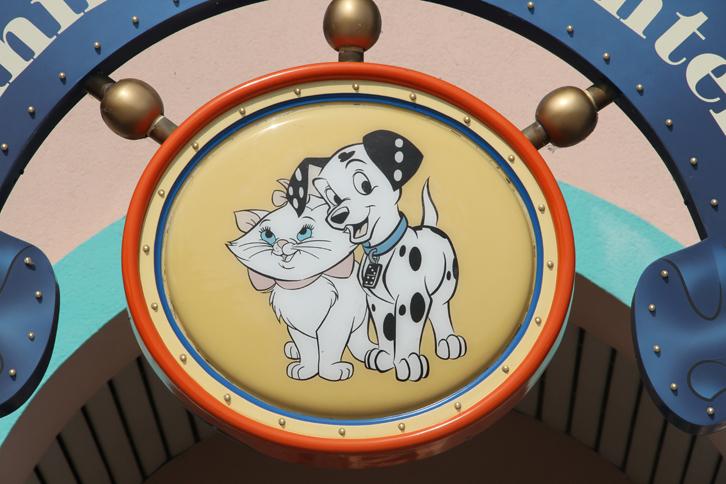 garde chien eurodisney