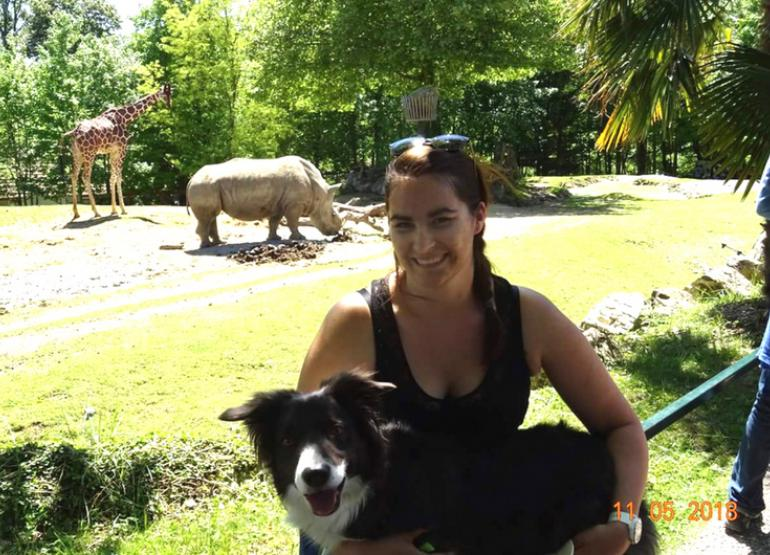 garde chien zoo beauval