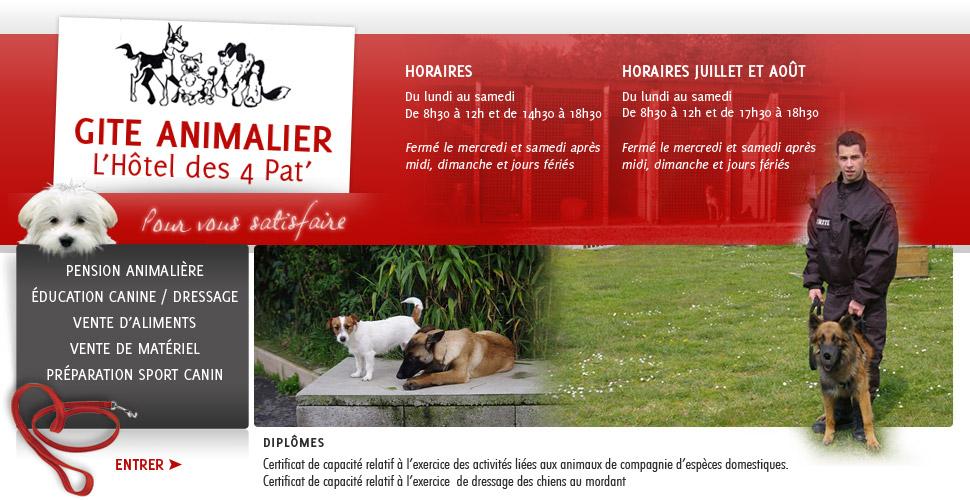 pension chien education