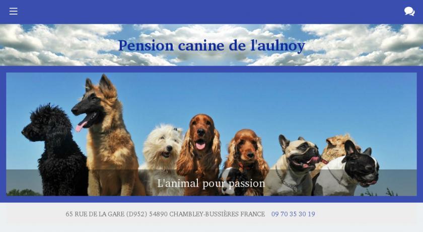 pension chien nancy