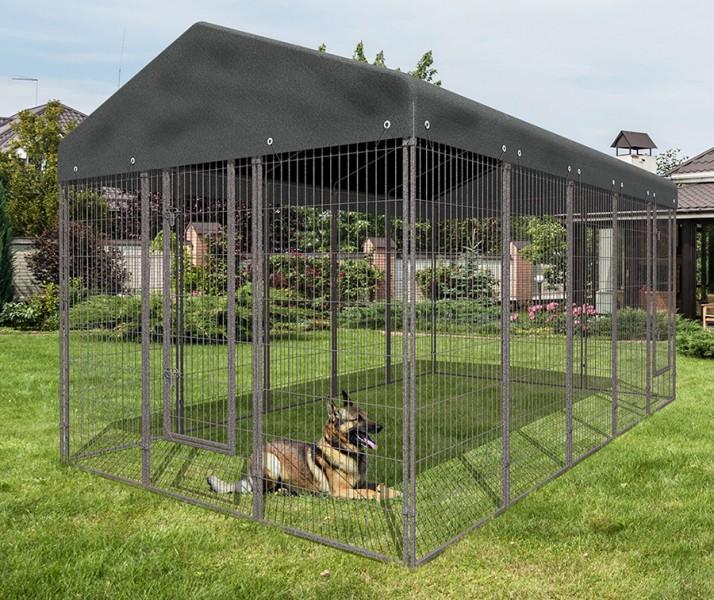 chenil chien avec toit