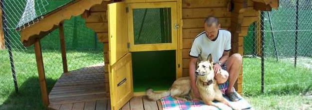 pension chien uberach